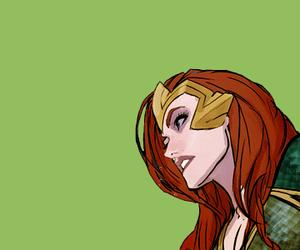 dc comics, queen of atlantis, and mera image