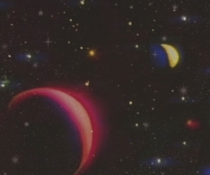aesthetic, galaxy, and planets image