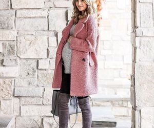 maternity outfit and pregnant style image