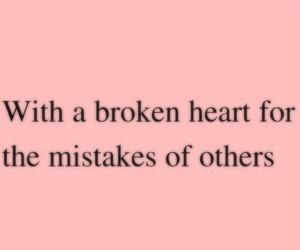 broken heart, feeling, and frases image