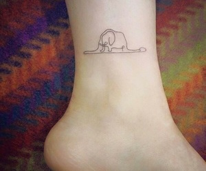 tattoo and little prince image