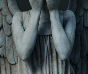 bbc, doctor who, and weeping angels image