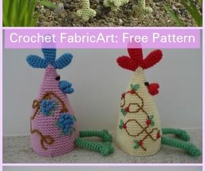easter crochet egg cozy image