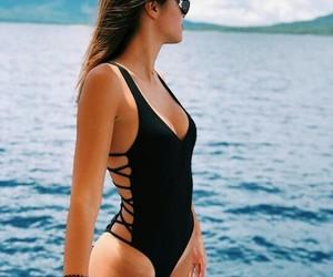 bali, model, and ocean image