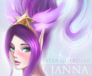 janna and league of legends image