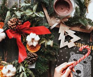 christmas, Cookies, and christmas table image