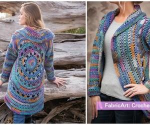 fashion and crochet jacket image