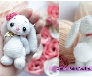 toys and crochet bunny softies image