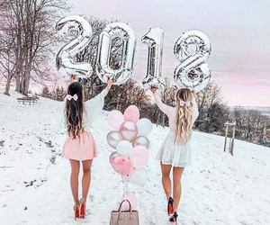 friends, girls, and 2018 image