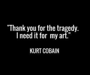 black, kurt cobain, and music image