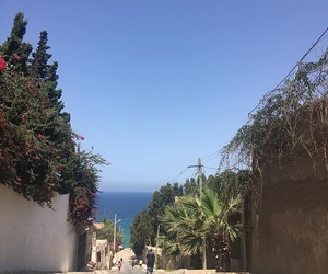 sea, view, and algerie image