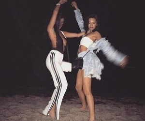 beach, bff, and goals image