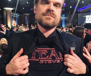 david harbour and stranger things image