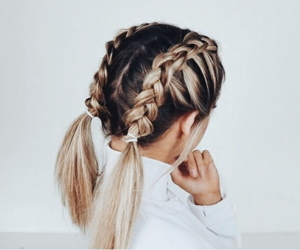 aesthetic, hairstyle, and ombre image