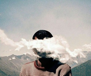 indie, clouds, and aesthetic image