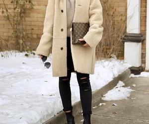 fashion, fur, and louis image