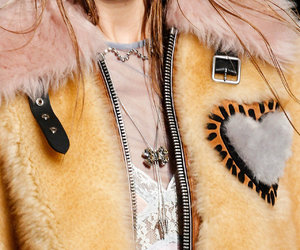 fashion, faux fur, and jacket image