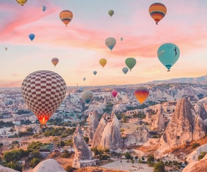 amazing, sky, and balloons image