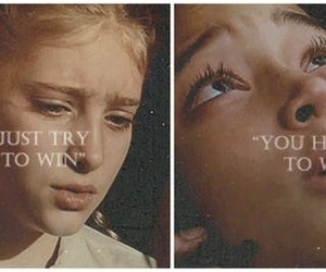 prim, hunger games, and rue image