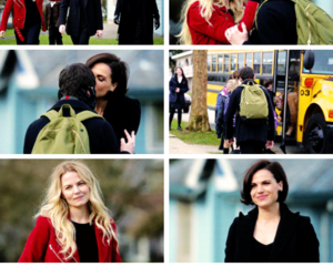 once upon a time, swan queen, and swanqueen image