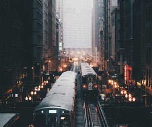 city and train image