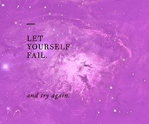 motivation, quotes, and try again image