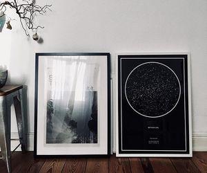 art, constellation, and stars image