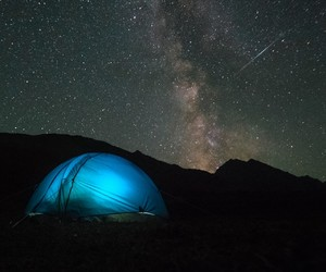 adventure, tent, and travelling image