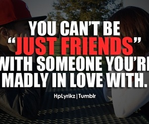love, friends, and just friends image