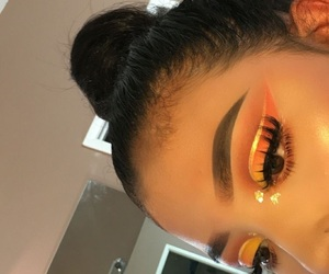 makeup and orange image