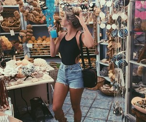 fashion, girl, and shop image
