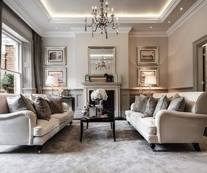 living room, interior, and luxury image