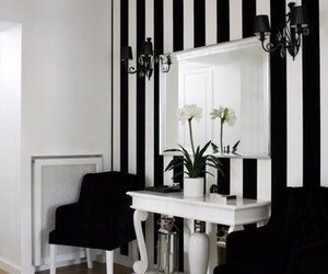 black and white, decoration, and home image