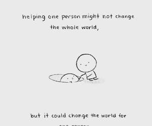 help, love, and quotes image