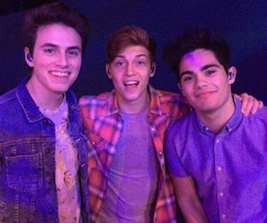 ricky garcia, emery kelly, and forever in your mind image