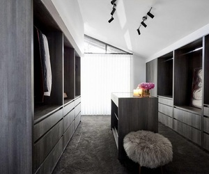 closet, interior, and wardrobe image