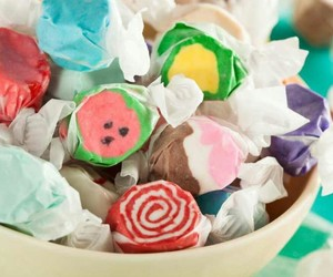 candy, yummy, and salt water taffy image