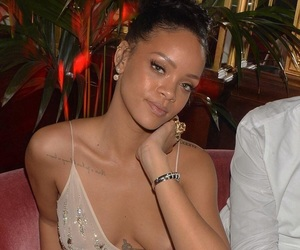 rihanna, eyes eyebrows brows, and beauty beautiful pretty image