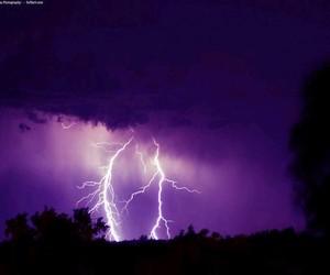 purple, lightning, and grunge image