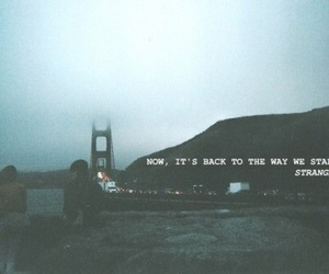 strangers, grunge, and quotes image