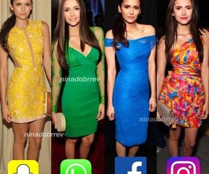 beautiful, blue dress, and dresses image