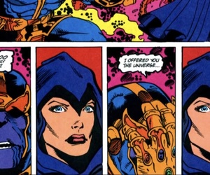 comics, death, and infinity image