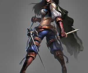 art, fantasy, and female image