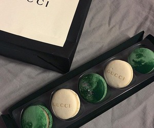 gucci, food, and green image