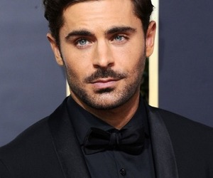 zac efron and golden globes image