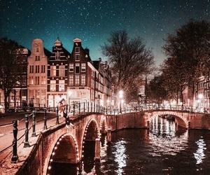 amsterdam, good night, and lights image