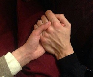 hands, larry, and Relationship image
