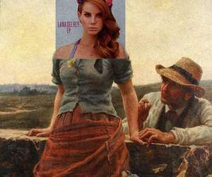 lana del rey and art image