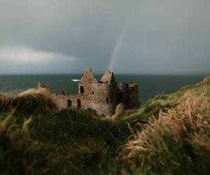 castle, ireland, and nature image