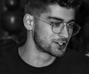 zayn, zayn malik, and glasses image